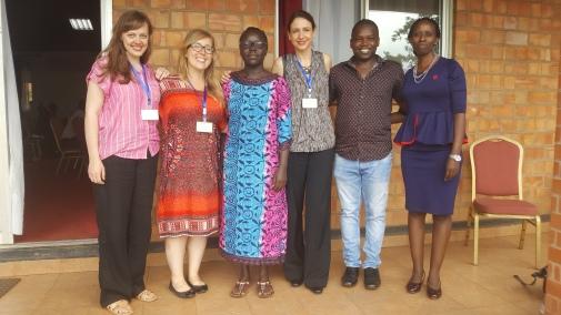 Bham team Kampala