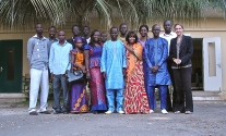 Dakar with students - 2